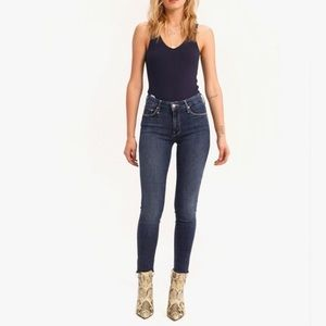 NWT MOTHER The Looker frey Ankle Jeans